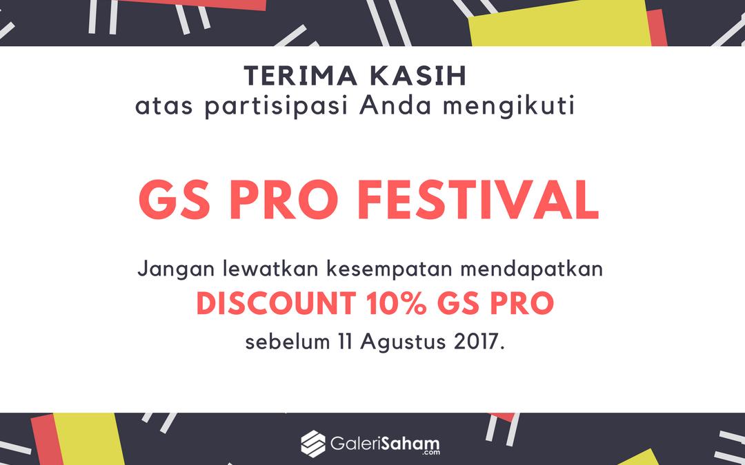 Promo Spesial GS PRO Festival