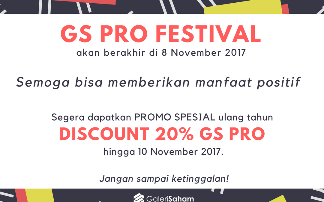 Promo Spesial GS PRO Festival – 8th Anniversary
