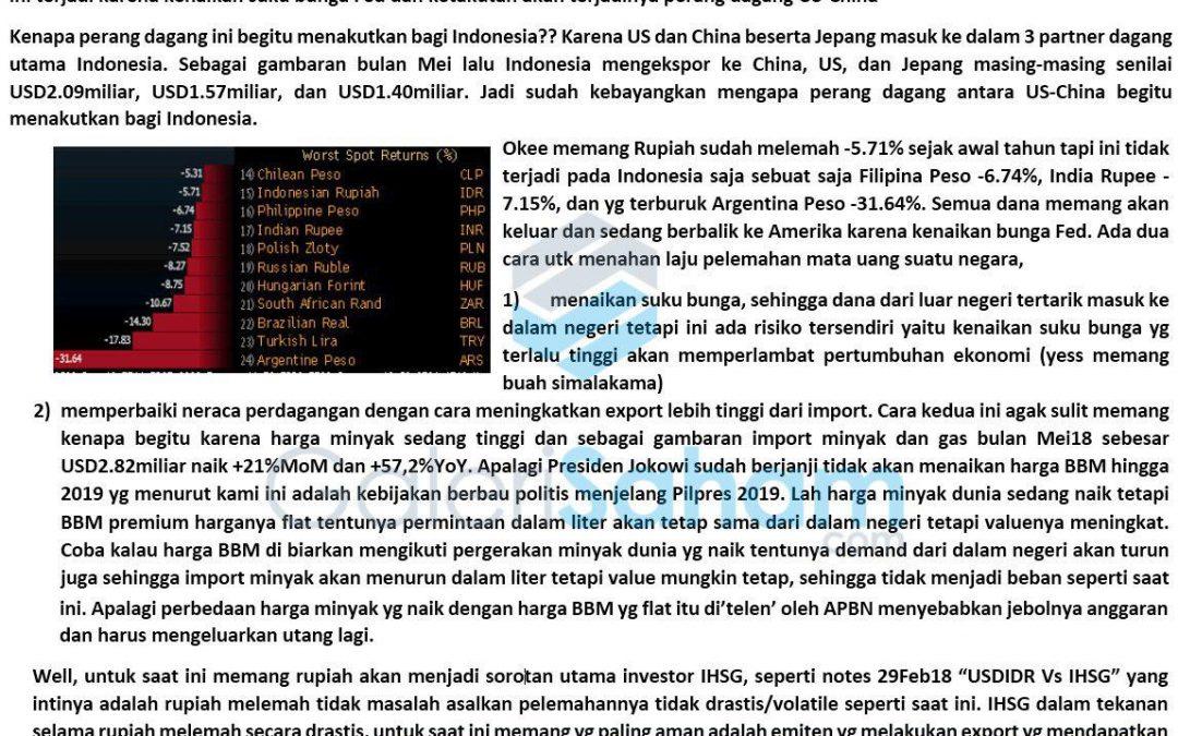Rupiah: Dilema Perekonomian Indonesia