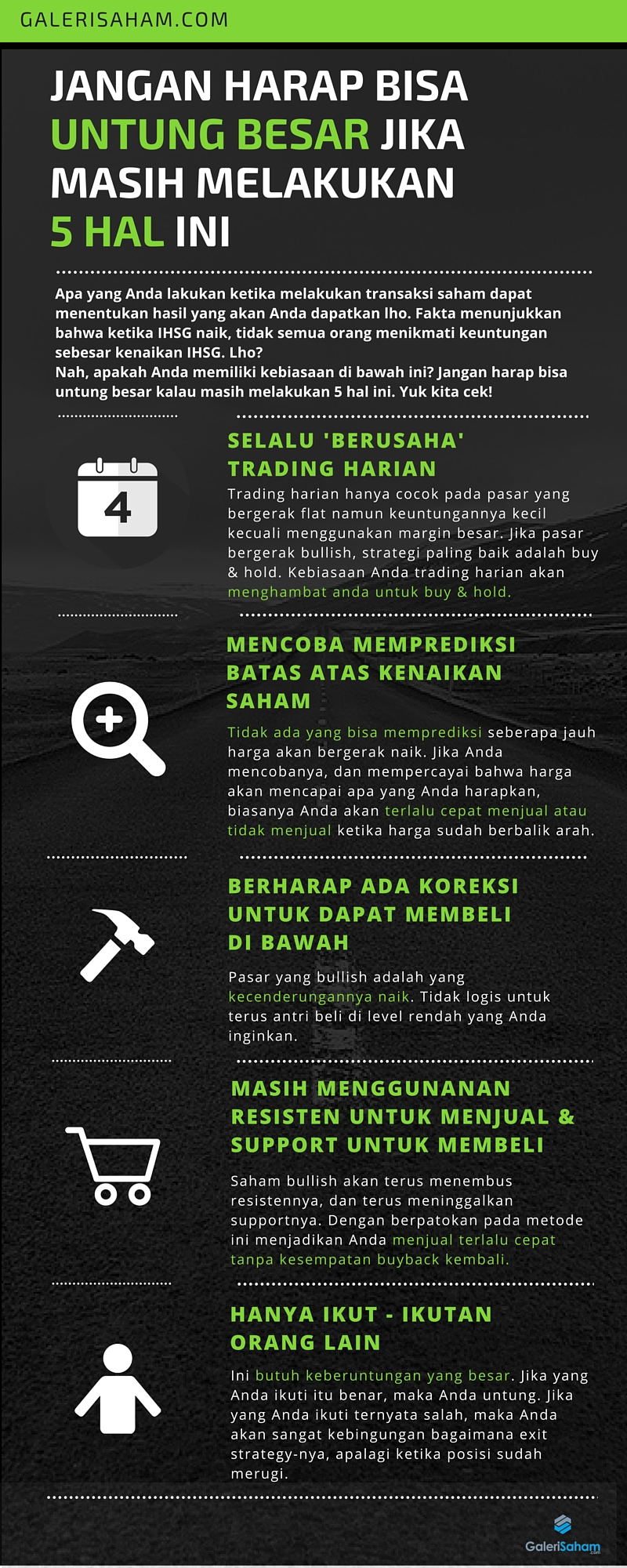 5 hal berbahaya