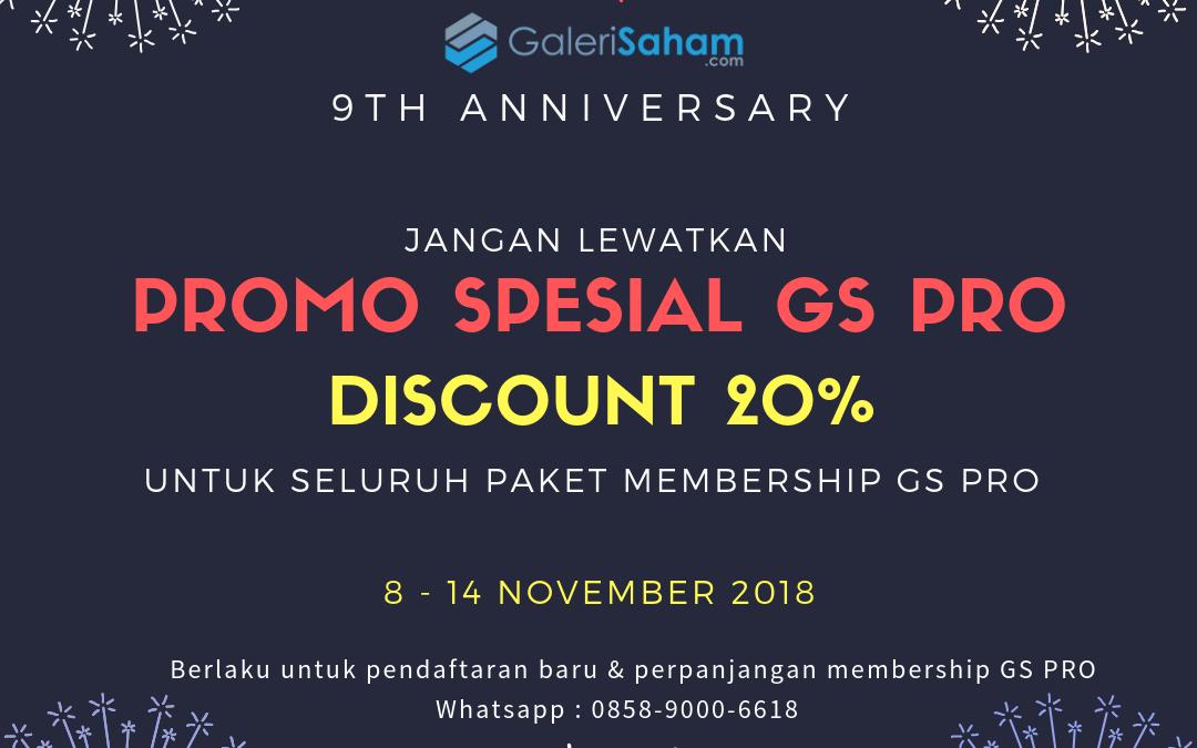 GS PRO | Promo 9th Anniversary