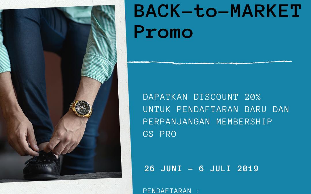 Back-to-Market Promo