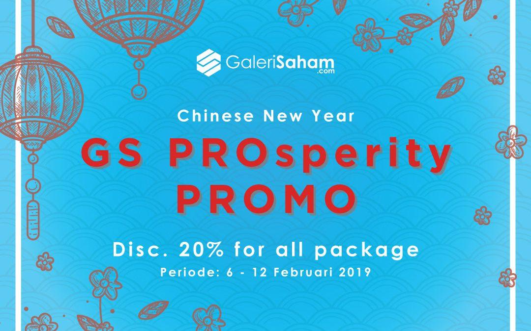 GS PROsperity Promo!