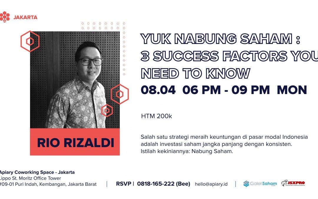 Seminar Nabung Saham!