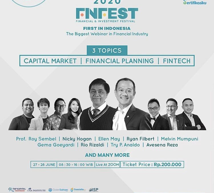 Finfest 2020 – Financial & Investment Festival