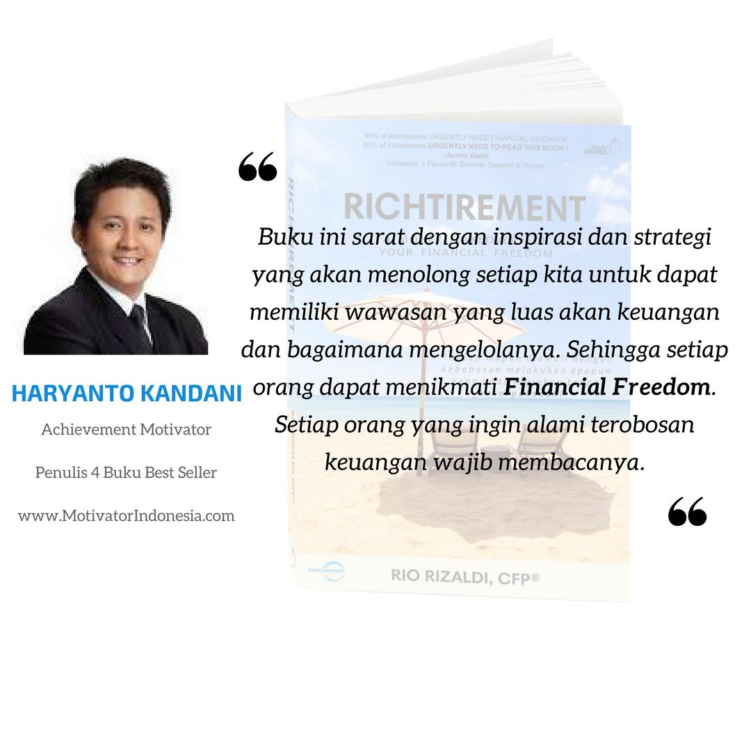 Richtirement - Haryanto Kandani
