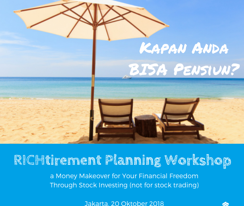 Richtirement Planning Workshop 2018 Batch 2 | Special Event!