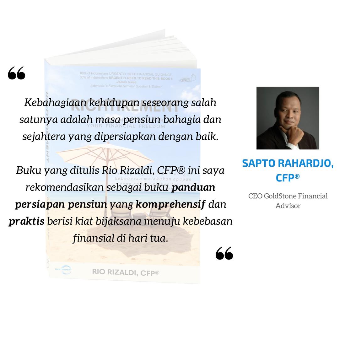 Richtirement - Sapto Rahardjo