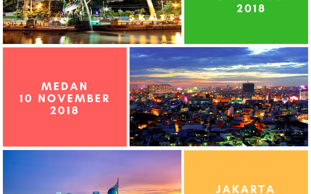 Event Terakhir 2018 di Surabaya & Medan