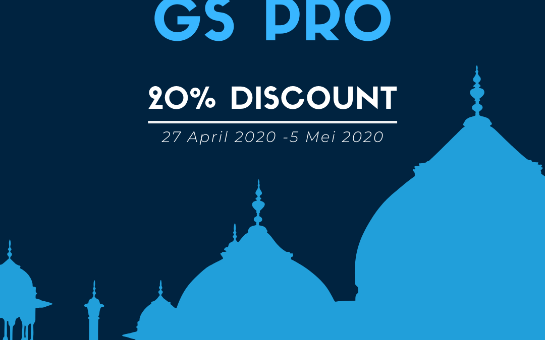 GS PRO – Special Promo Ramadhan
