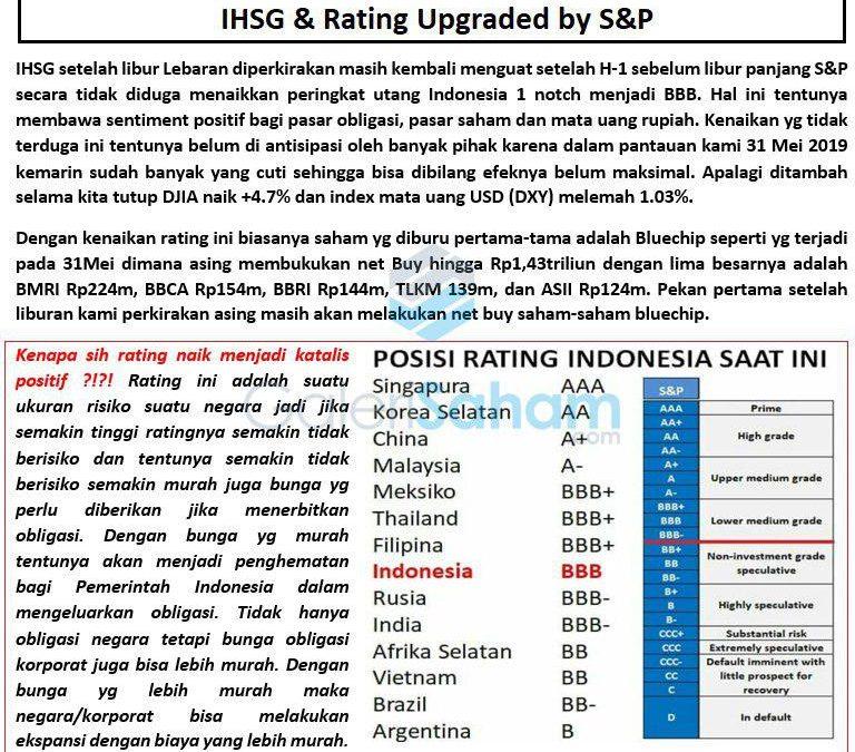 Kenapa S&P Rating Upgrade Itu Penting?