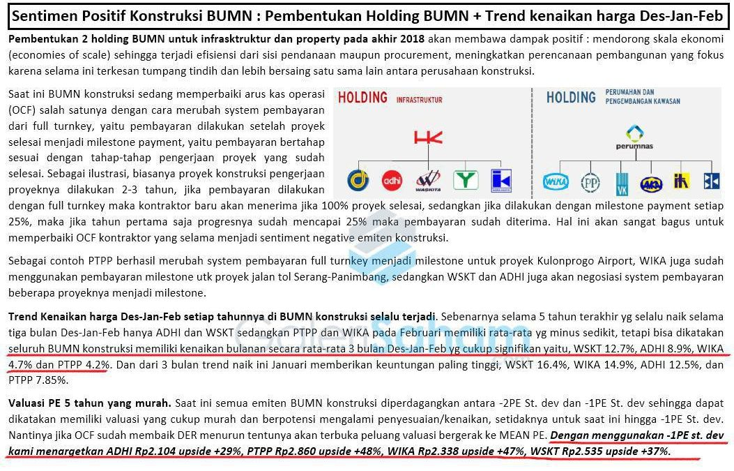 GS PRO: Update Fundamental Konstruksi BUMN